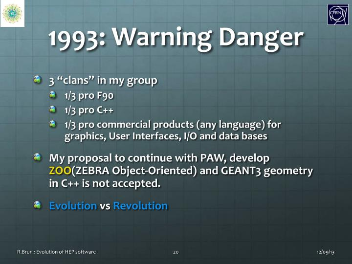 1993: Warning Danger
