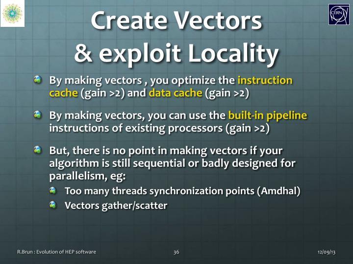 Create Vectors