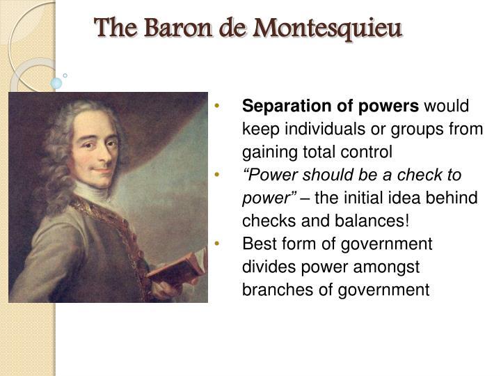 The Baron de