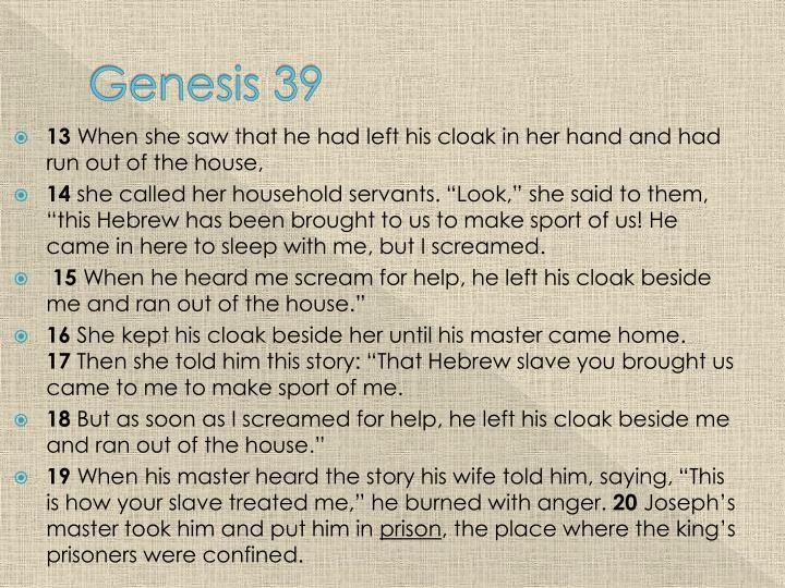 Genesis 39