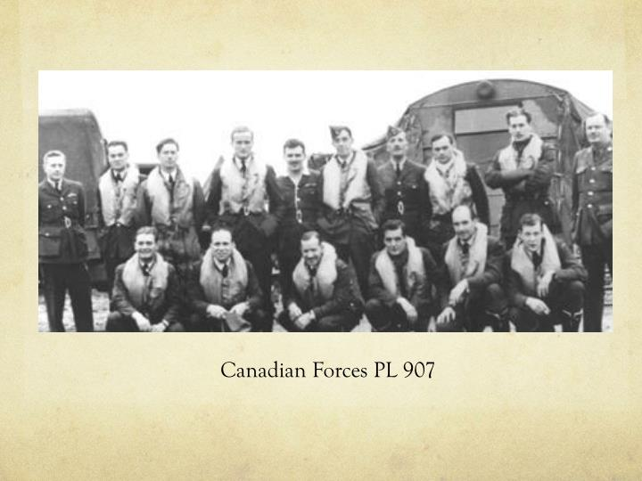 Canadian Forces PL 907