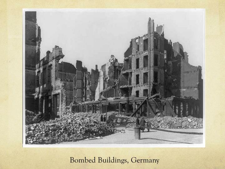 Bombed Buildings, Germany