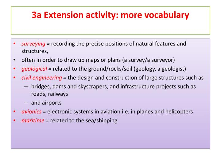 3a Extension
