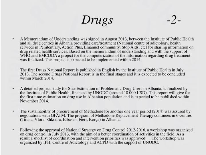 Drugs                 -2-