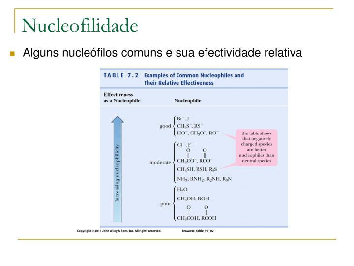 Nucleofilidade