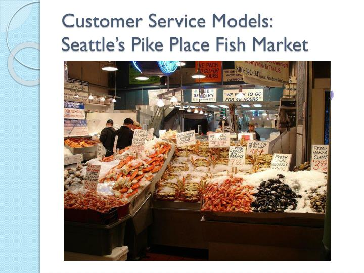 Seattle fish market training video for Pike place fish