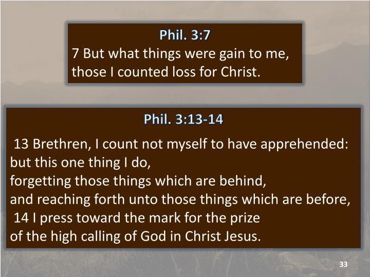 Phil. 3:7