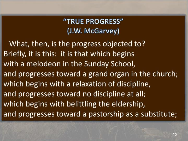 """TRUE PROGRESS"""