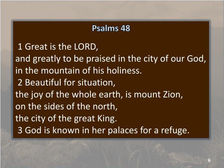Psalms 48