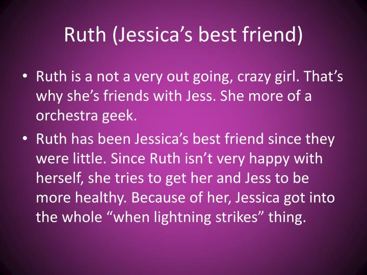 Ruth (Jessica's best friend)