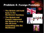 problem 4 foreign problems