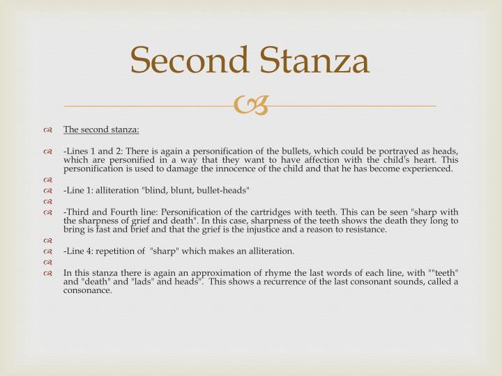 Second Stanza