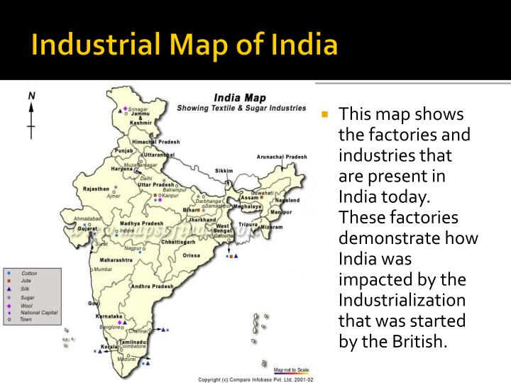 Industrial Map of India
