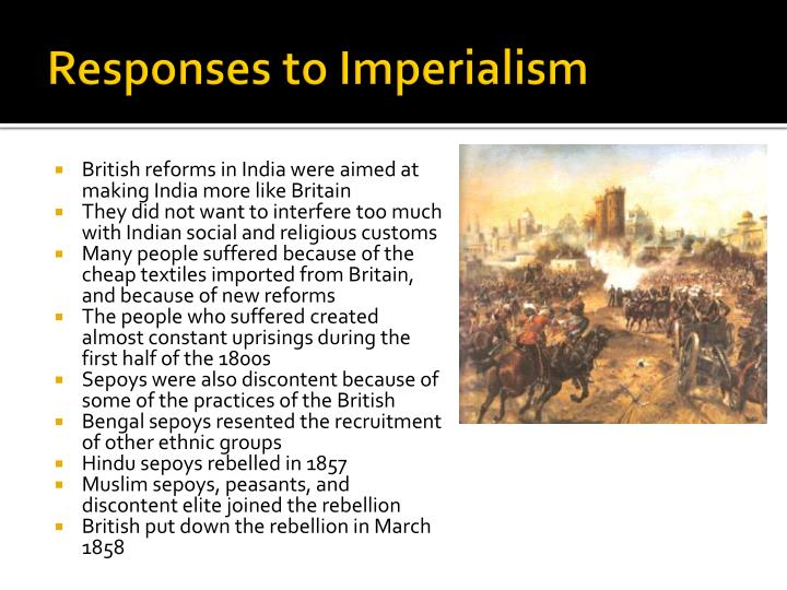 Responses to Imperialism