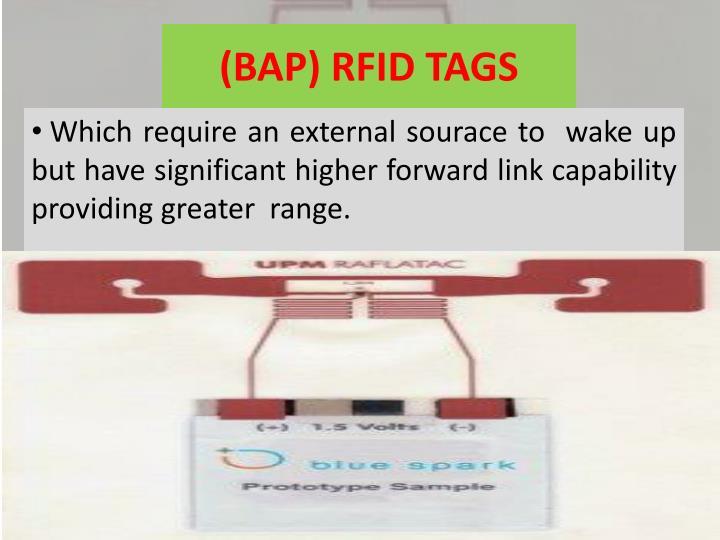 (BAP) RFID TAGS