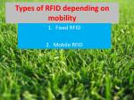 types of rfid depending on mobility