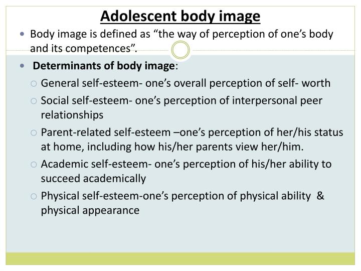 Adolescent body image