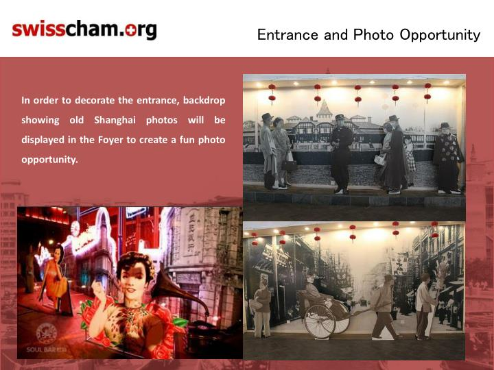 Entrance and Photo Opportunity