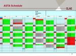 asta schedule