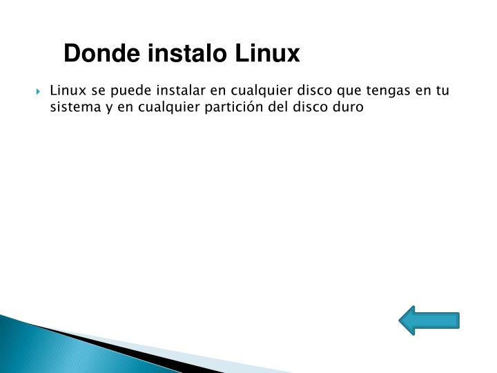 Donde instalo Linux