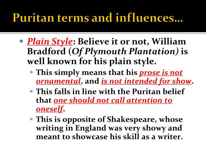Plymouth Plantation colony, Essay