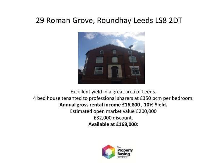 29 Roman Grove,