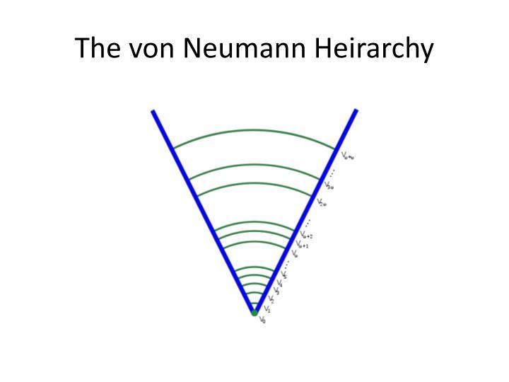 The von Neumann
