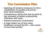 the commission plan