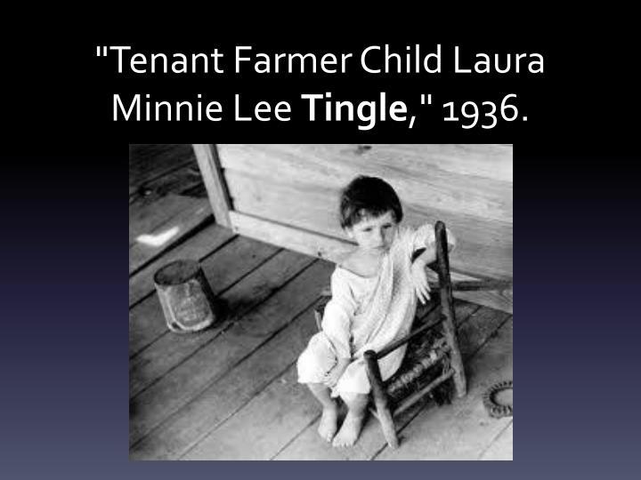 """Tenant Farmer Child"