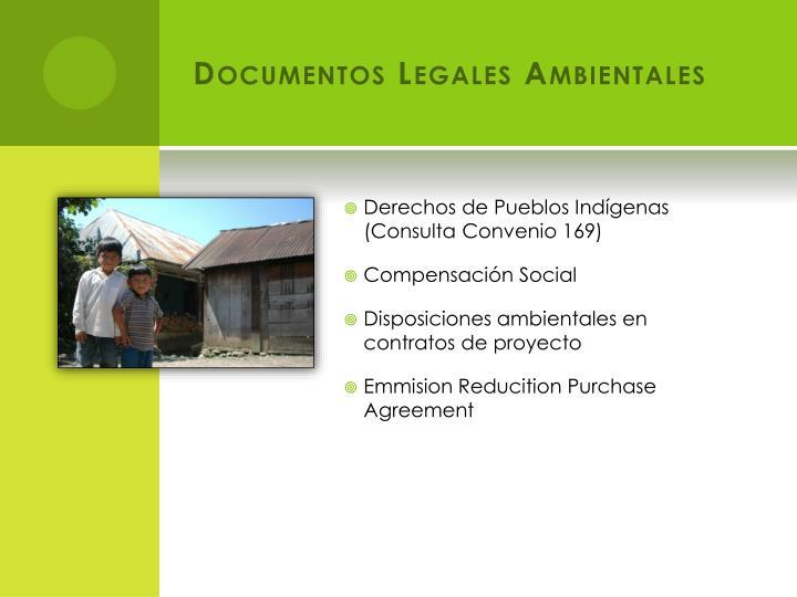 Documentos Legales Ambientales