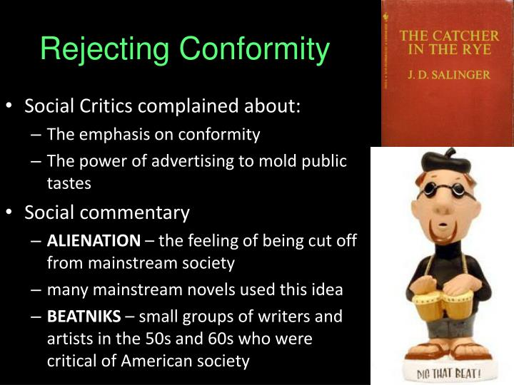 the confrontation of the idea of societal conformity in the novel one flew over the cuckoos nest by  Free religious symbols  that their eyes were watching god is the finest black novel of its time and one of the finest  one flew over cuckoos nest]:: 6.