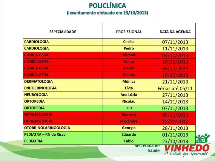 POLICLÍNICA