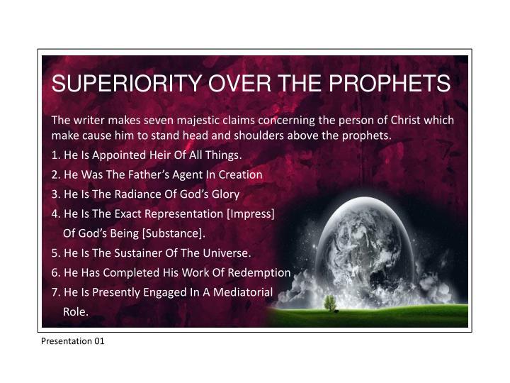 SUPERIORITY OVER