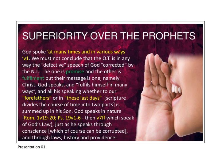 SUPERIORITY OVER