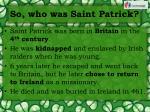 so who was saint patrick