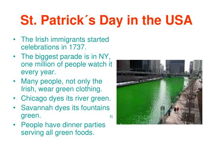 St. Patrick´s Day in the USA
