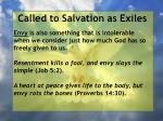 called to salvation as exiles10