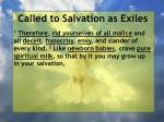 called to salvation as exiles2