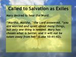 called to salvation as exiles20