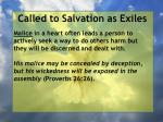 called to salvation as exiles5