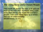 the living stone and a chosen people105