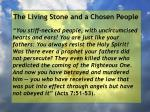 the living stone and a chosen people120