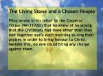 the living stone and a chosen people135