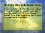 the living stone and a chosen people30
