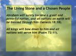 the living stone and a chosen people44