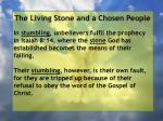 the living stone and a chosen people59