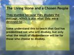 the living stone and a chosen people60