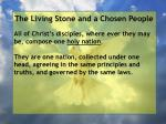 the living stone and a chosen people86
