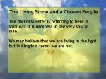 the living stone and a chosen people96