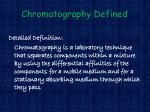 chromatography defined